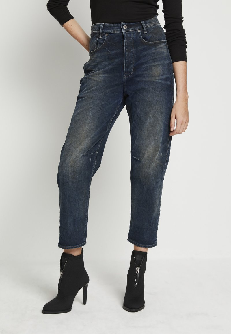 G-Star - C-STAQ 3D BOYFRIEND CROP WMN - Relaxed fit jeans - antic nebulas