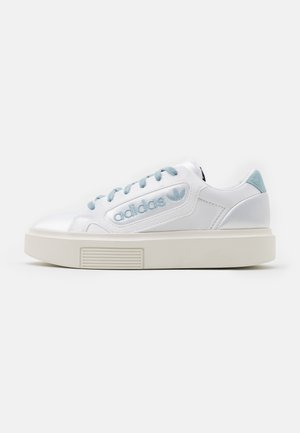SLEEK SUPER - Trainers - footwear white/offwhite/copper metallic