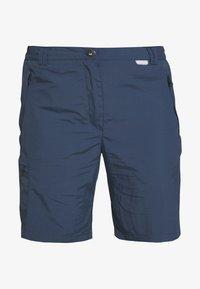 CHASKA SHORT - Shorts - dark denim