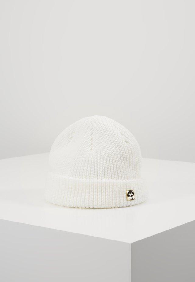 MICRO BEANIE UNISEX - Bonnet - white