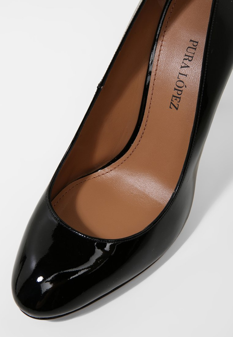 Pura Lopez Hoge hakken - vernice black - Damesschoenen Hot Koop