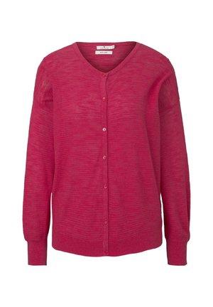 PULLOVER & STRICKJACKEN LOCKERER CARDIGAN - Cardigan - blushing pink