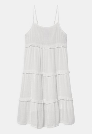 GIRL TIERED MIDI DRESS - Day dress - new off white