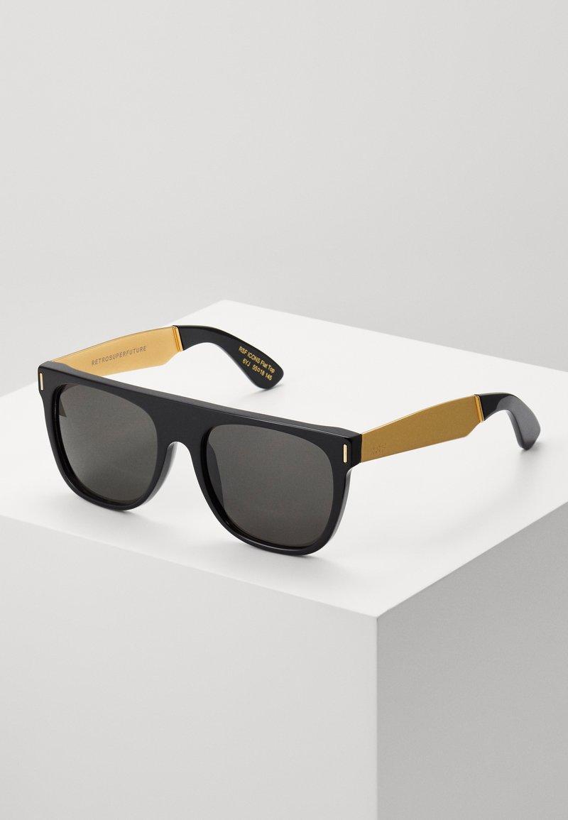 RETROSUPERFUTURE - Lunettes de soleil - black/gold-coloured
