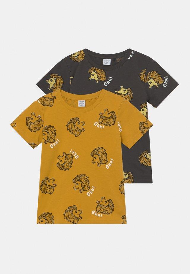 STREET 2 PACK UNISEX - T-shirt con stampa - dark grey