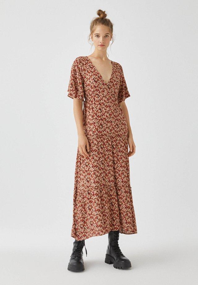 Robe longue - braun