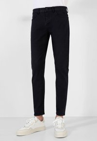 Scalpers - FIVE POCKETS PANTS - Trousers - navy - 1