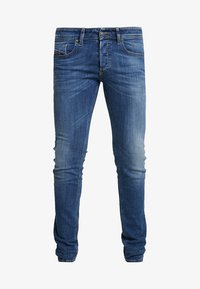 Diesel - SLEENKER - Jeans Skinny Fit - dark-blue denim - 4