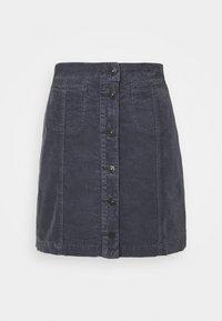 ELLIS - A-line skirt - faded indigo wash