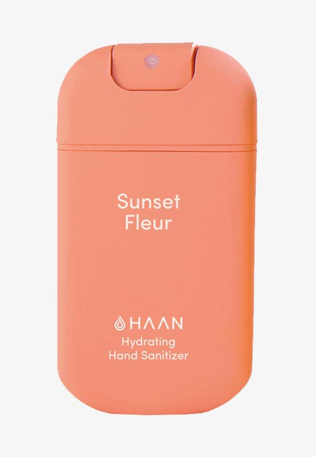 HAAN SINGLE HAND SANITIZER - Vloeibare zeep - sunset fleur