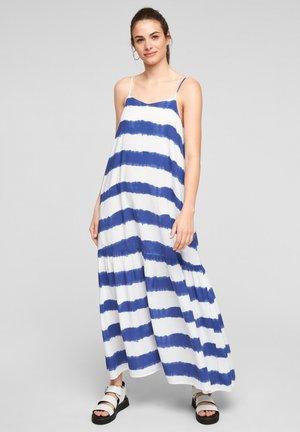 Maxi dress - blue stripes