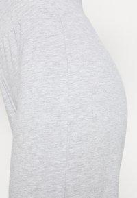 CALANDO - Tracksuit bottoms - mottled light grey - 4