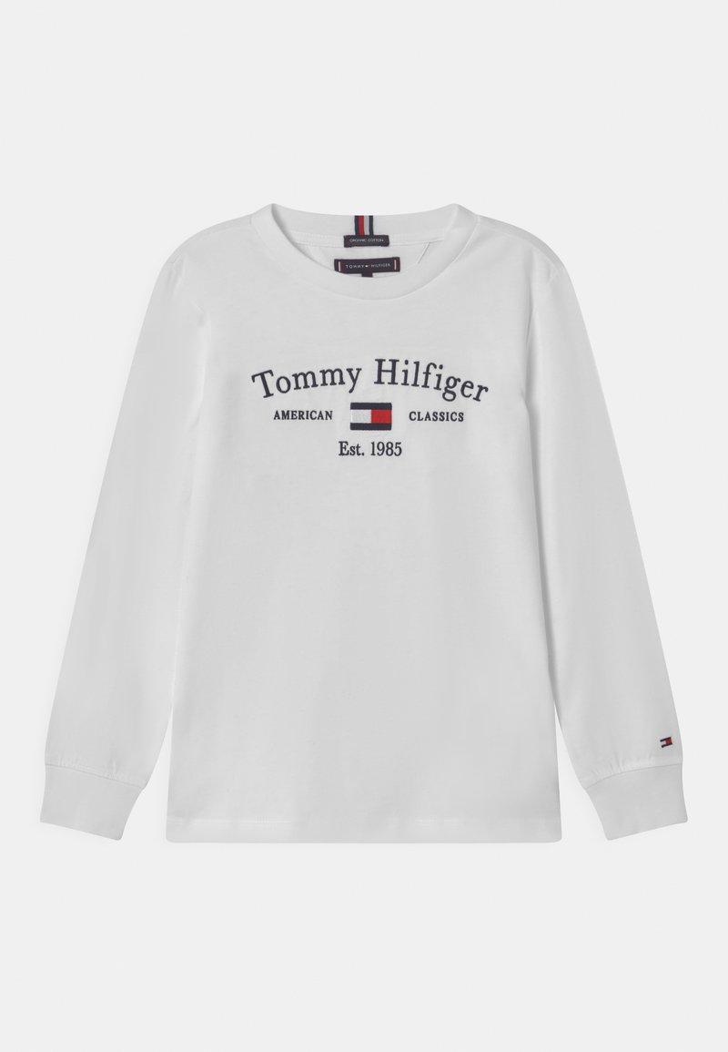 Tommy Hilfiger - ARTWORK  - Maglietta a manica lunga - white