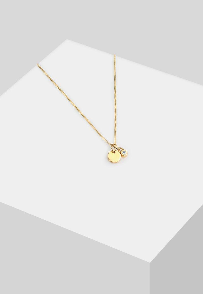 DIAMORE - SOLITÄR - Necklace - gold-coloured