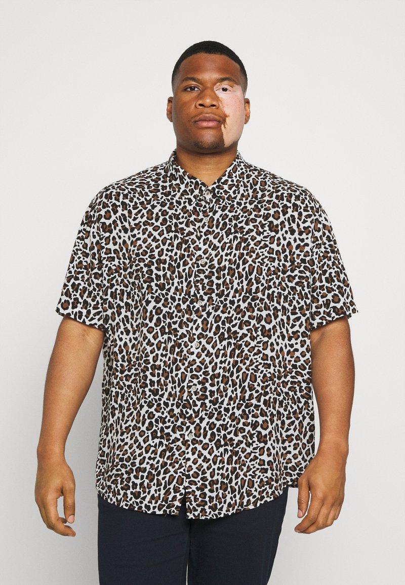 Johnny Bigg - CHANCE ANIMAL PRINT - Shirt - white