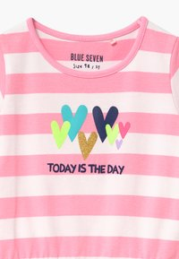 Blue Seven - SMALL GIRLS HEART STRIPE DRAWSTRING - Jersey dress - azalee - 2