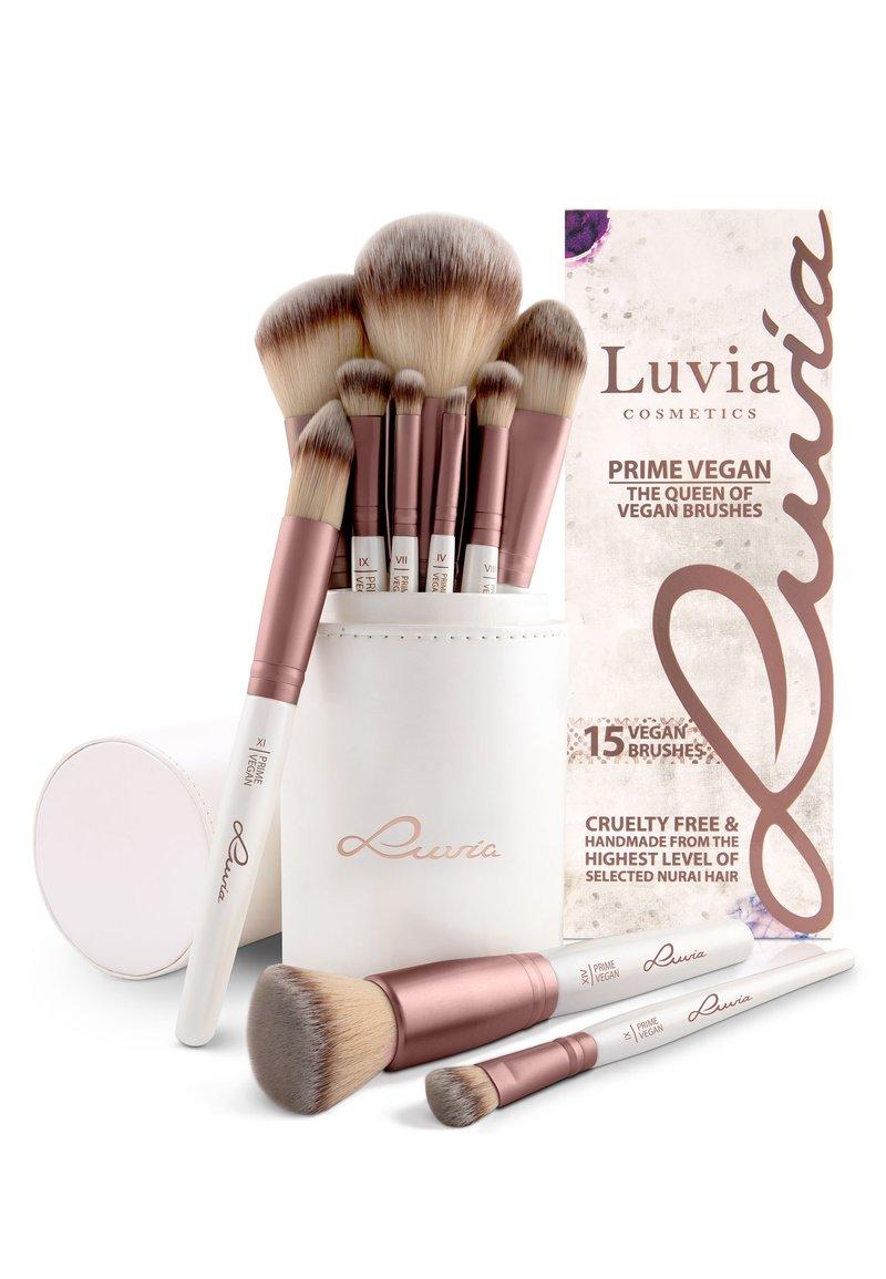 Luvia Cosmetics - BRUSH SET - Zestaw pędzli do makijażu - prime vegan