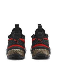 Puma - Basketball shoes - high risk red-puma black - 3
