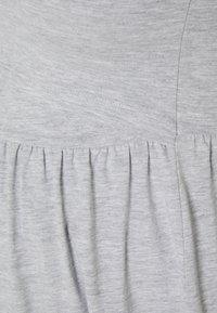 Anna Field MAMA - NURSING Jersey dress - Jerseykjole - light grey - 2