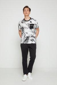 Calvin Klein - SUMMER ALLOVER  - T-shirt con stampa - bright white - 3