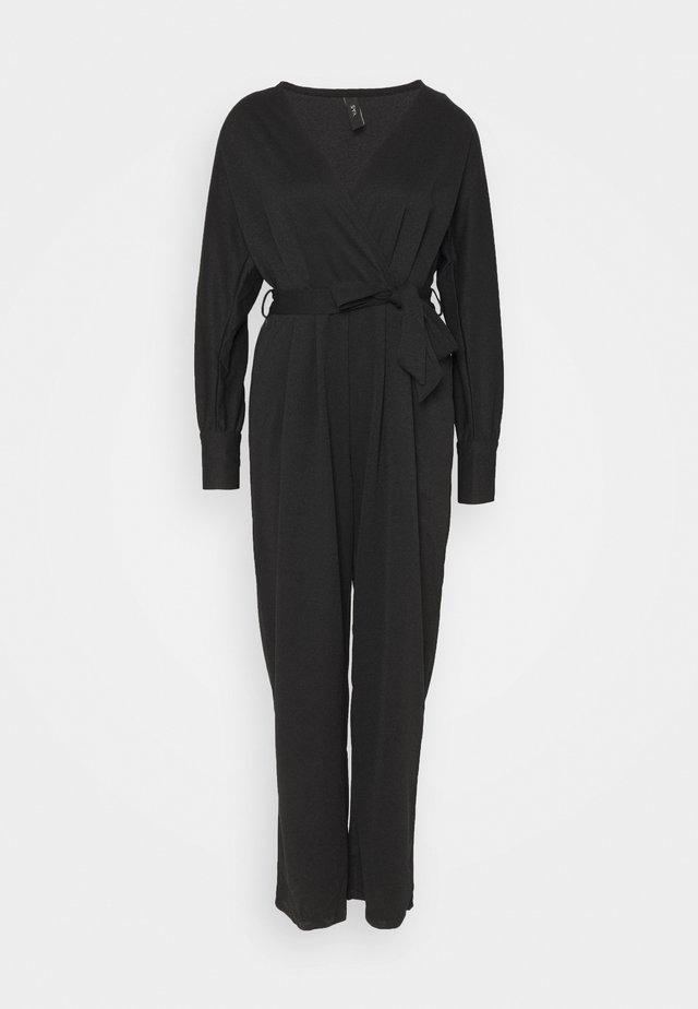 YASVIOLI - Tuta jumpsuit - black