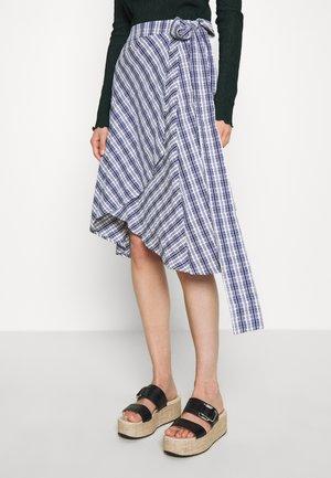 VALEUR - A-line skirt - navy