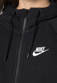 Nike Sportswear - HOODIE - Sweat à capuche zippé - black/white - 4