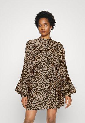 ADDIE DRESS - Day dress - brown