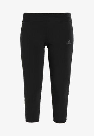 Träningsshorts 3/4-längd - black/black