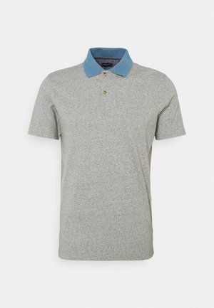 JPRBLUDOM - Koszulka polo - light grey melange