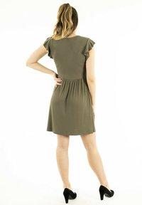 ONLY - Jersey dress - vert - 3