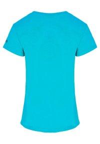 IZAS - T-shirt imprimé - turquoise - 7