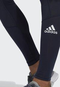 adidas Performance - TECHFIT LONG TIGHTS - Leggings - blue - 3