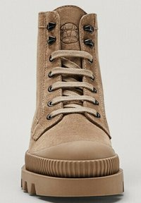 Massimo Dutti - Lace-up ankle boots - beige - 3