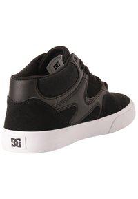 DC Shoes - KALIS VULC MID - Trainers - black - 2