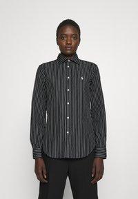 Polo Ralph Lauren - GEORGIA LONG SLEEVE - Button-down blouse - black - 0