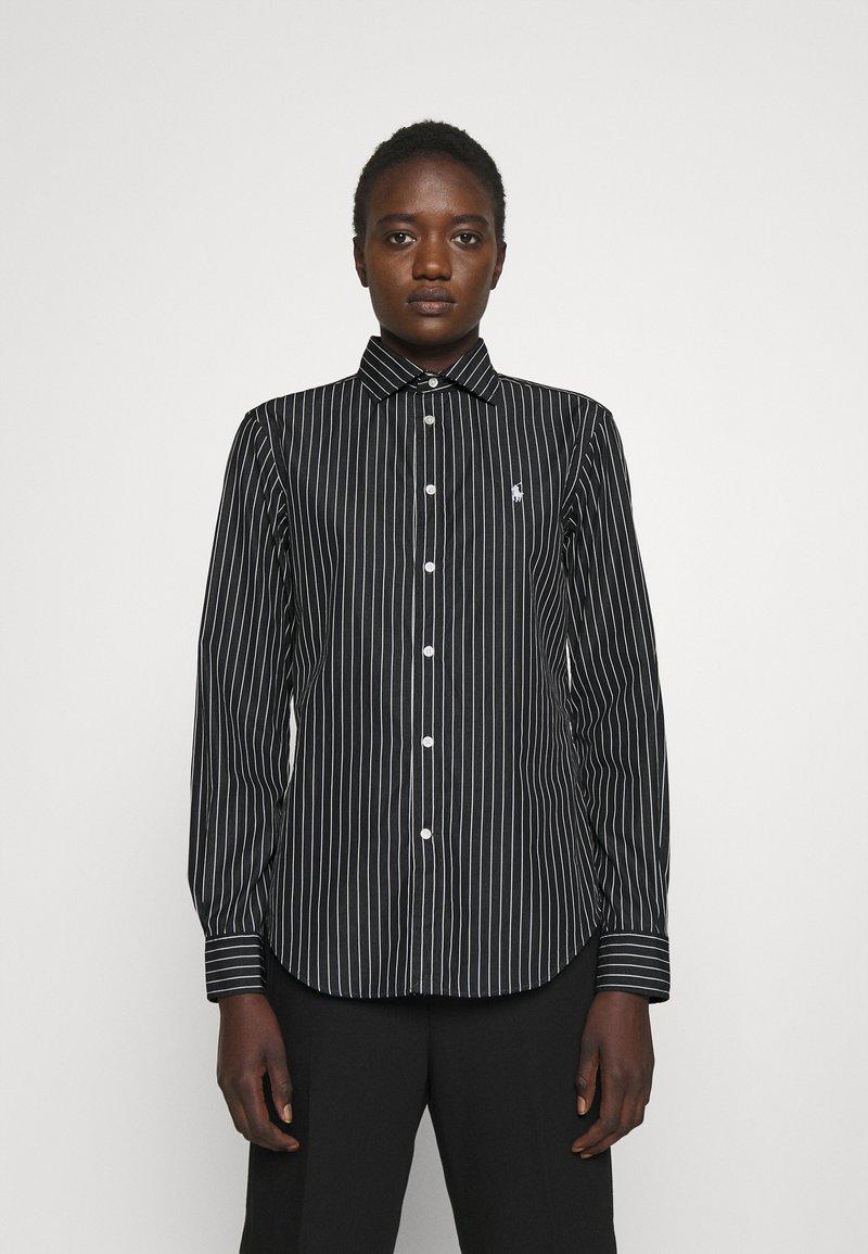 Polo Ralph Lauren - GEORGIA LONG SLEEVE - Button-down blouse - black