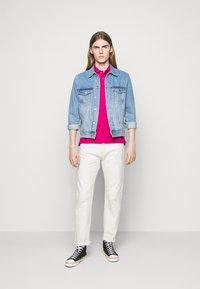 Polo Ralph Lauren - SHORT SLEEVE KNIT - Polo - aruba pink - 1