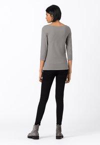 HALLHUBER - Long sleeved top - gris argenté - 1