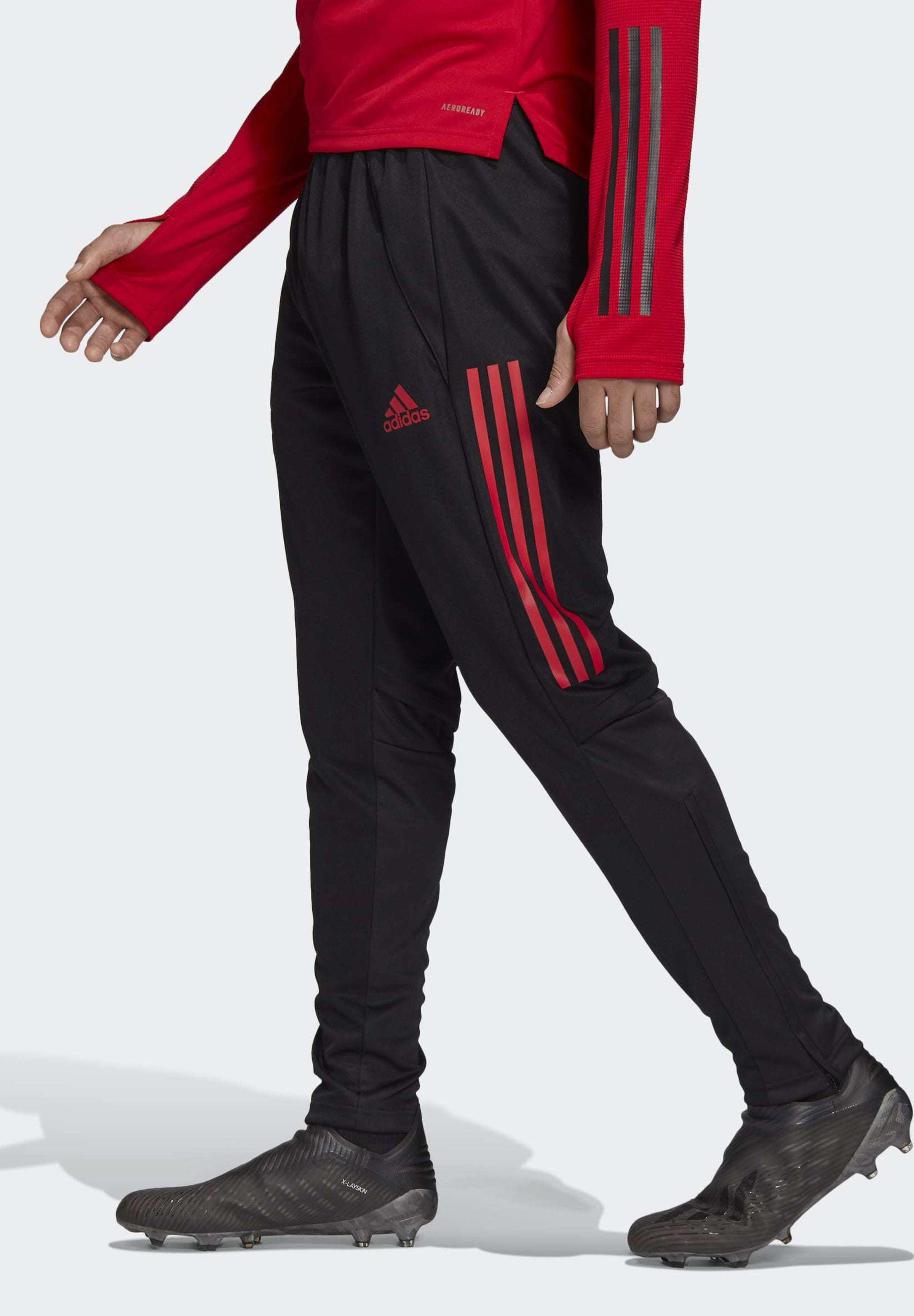 adidas Performance NEW YORK RED BULLS TRAINING TRACKSUIT BOTTOMS - Pantalon de survêtement - black