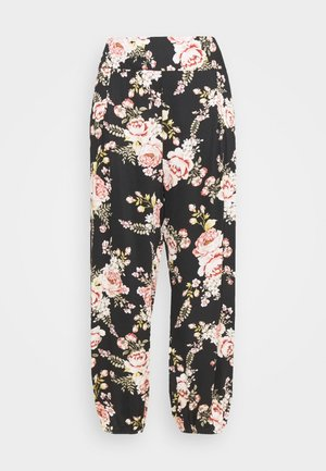 JADE PANT - Pantalones - black/multi coloured