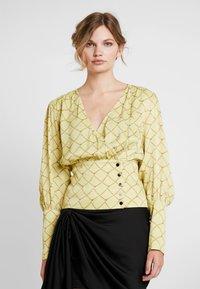 Birgitte Herskind - MIE BLOUSE - Bluser - pastel yellow - 0