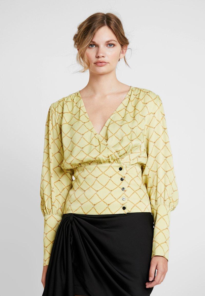 Birgitte Herskind - MIE BLOUSE - Bluser - pastel yellow