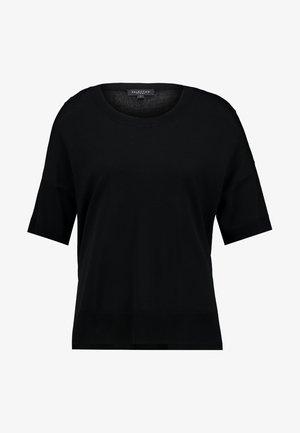 SLFWILLE O NECK - Print T-shirt - black