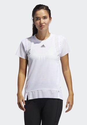 HEAT.RDY TRAINING T-SHIRT - Camiseta estampada - white