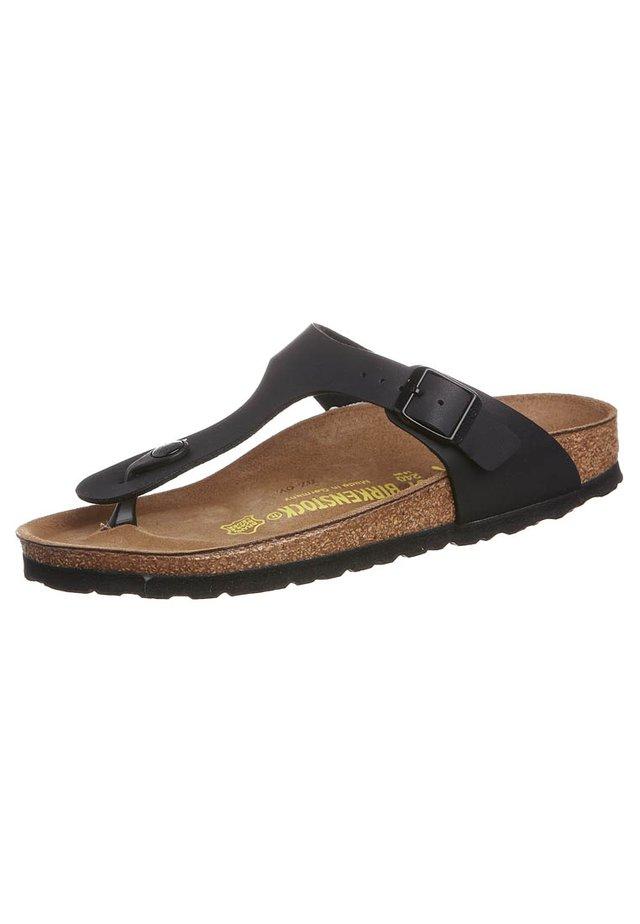 GIZEH - Flip Flops - schwarz