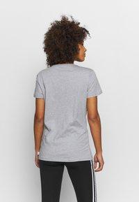 Saucony - HERO - T-shirt con stampa - light grey heather - 2