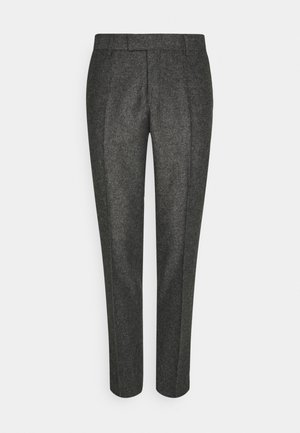 TORDON - Suit trousers - mottled grey
