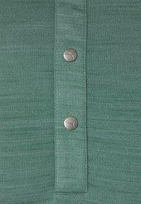 Puma Golf - GW CLOUDSPUN MAT HENLEY - Triko spotiskem - blue spruce heather - 2