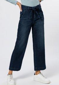 zero - Straight leg jeans - mid blue authentic wash - 0